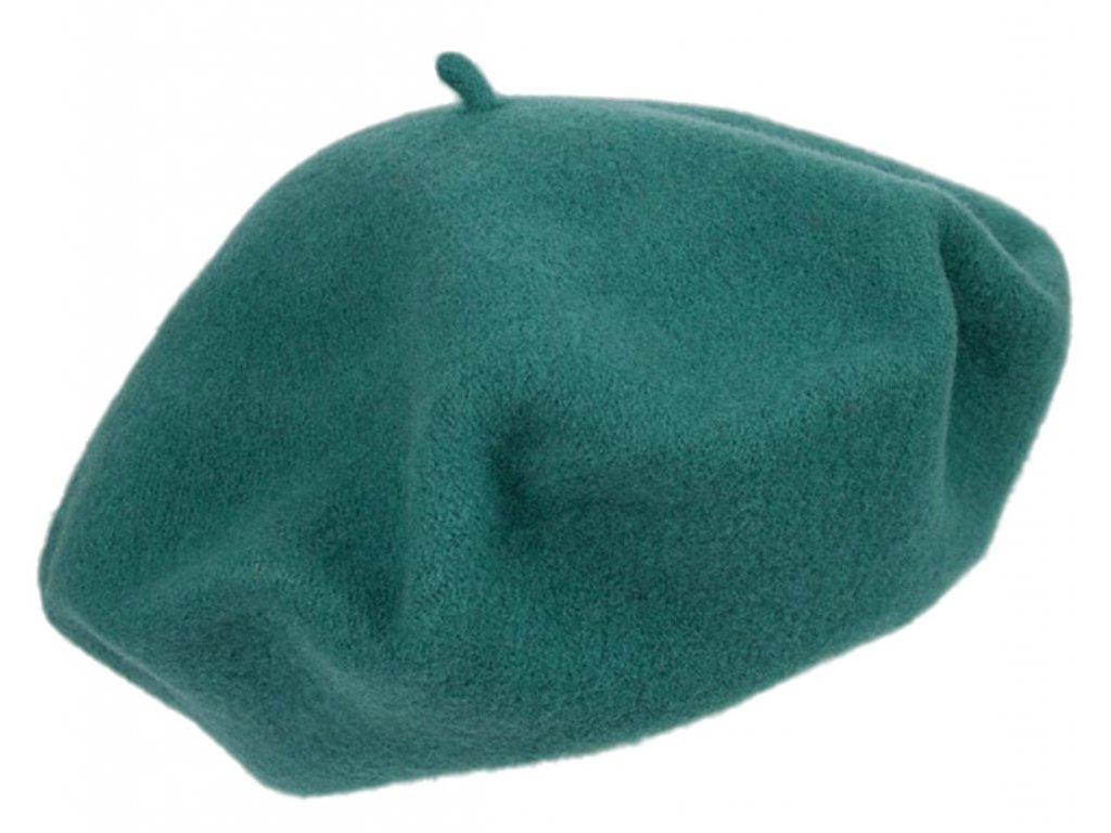 Baret zelený dámský - Flora - 050581