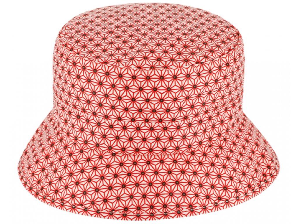 letni červený klobouček