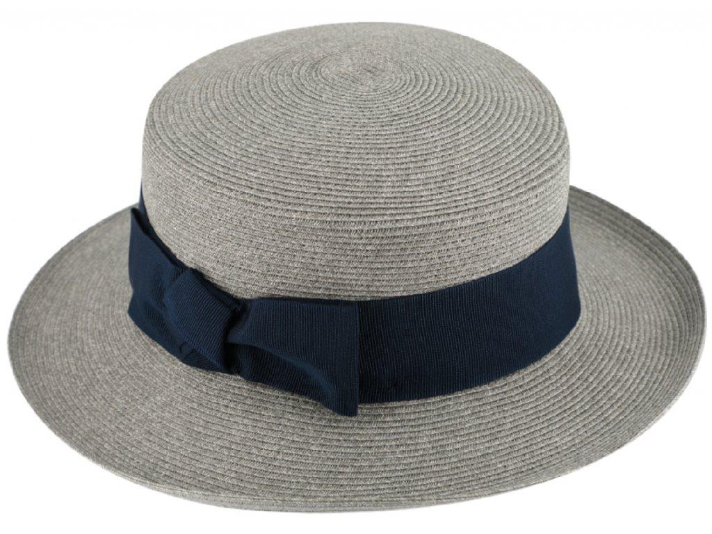 modry letni klobouček