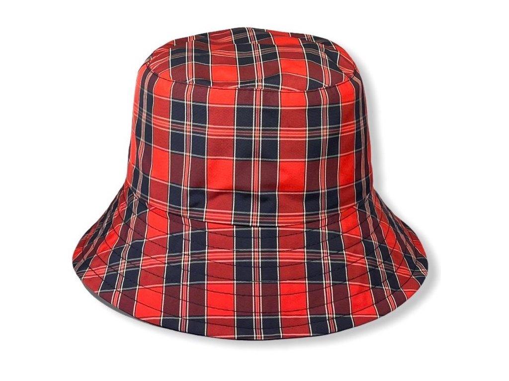 29043 damsky nepromokavy klobouk cerveny