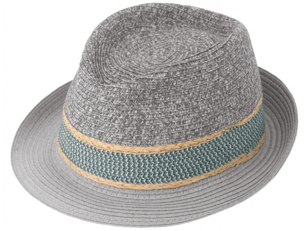 Sedy letni klobouk