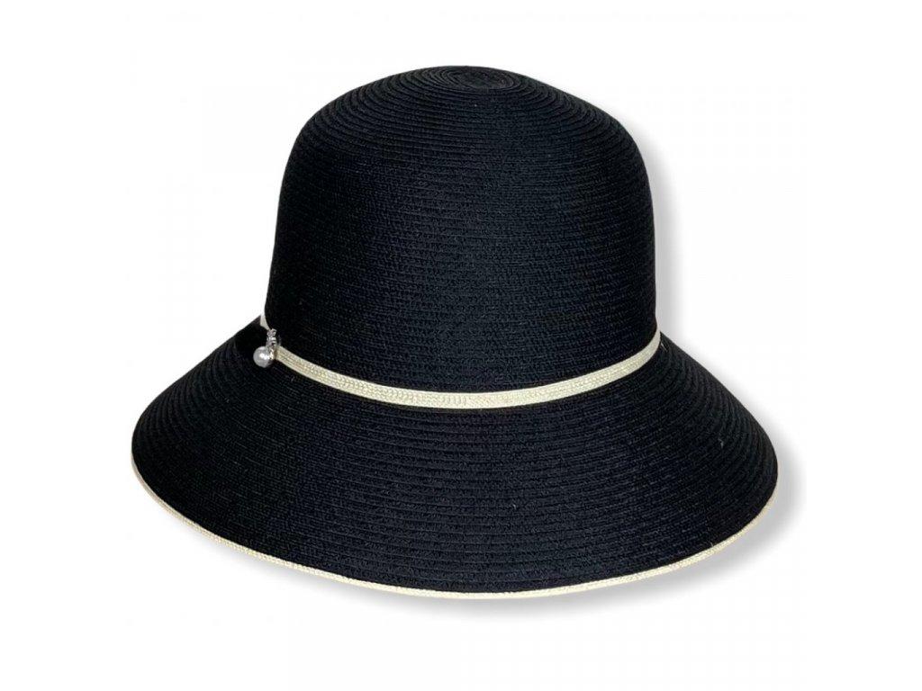 28875 2 damsky letni klobouk s perlou