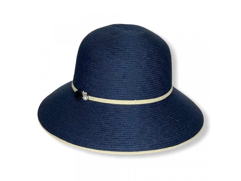 28875 damsky letni klobouk s perlou