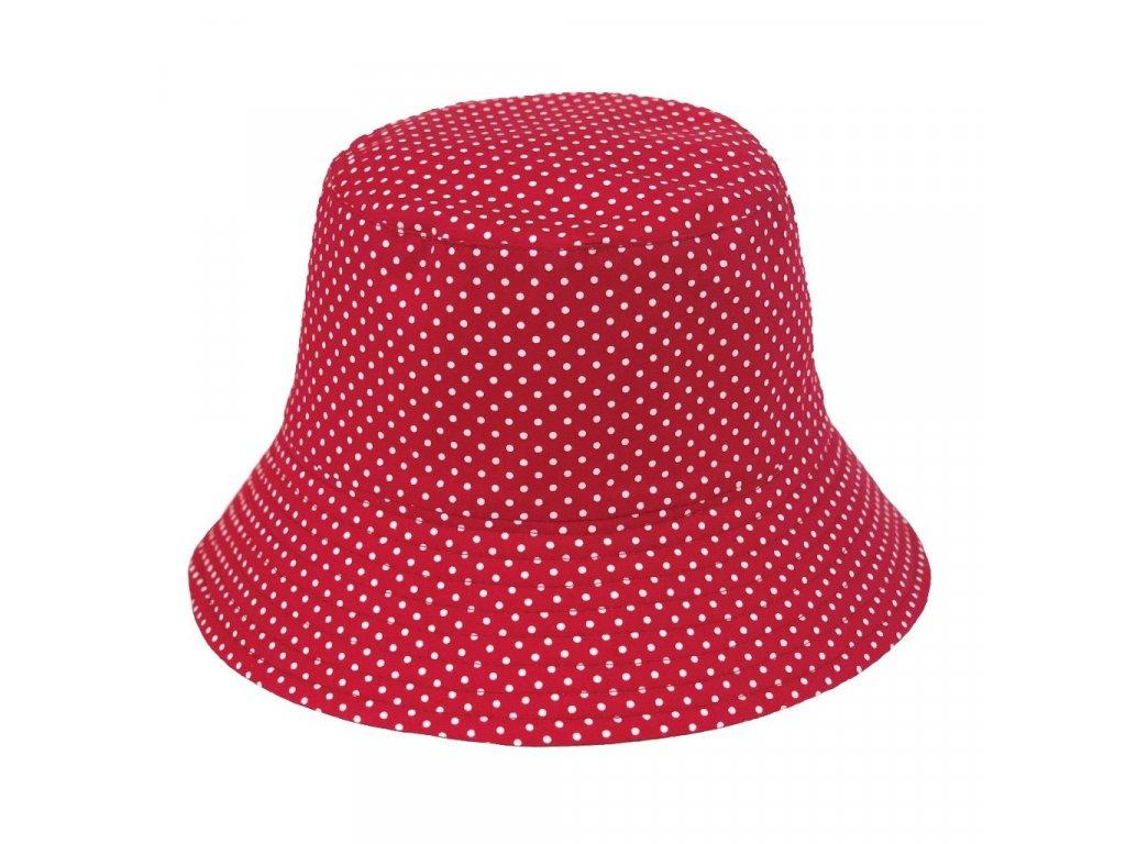 28932 damsky puntikovany klobouk