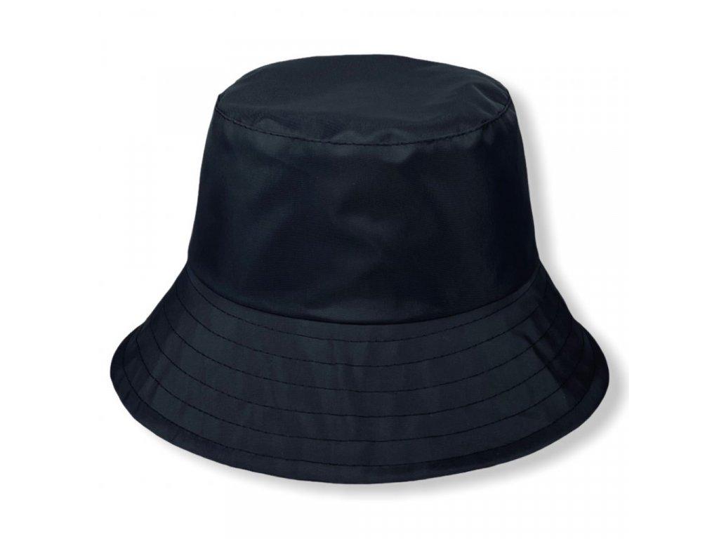 Dámský nepromokavý klobouk - černý - Bucket Hat