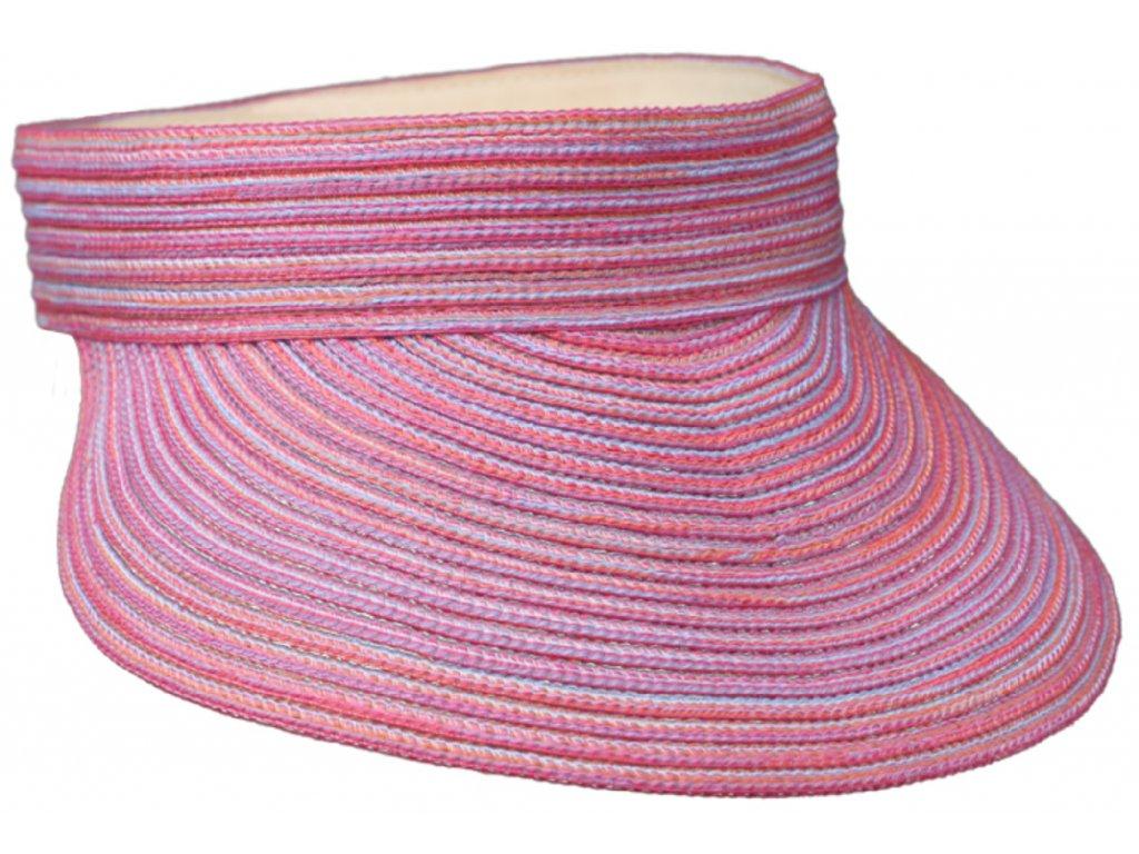 Růžový kšilt proti slunci - Fiebig