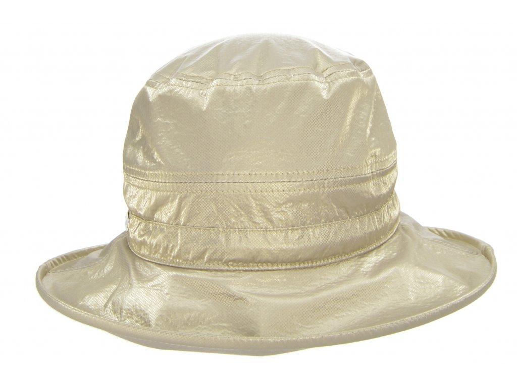 Dámský nepromokavý klobouk - béžový - Bucket Hat - Seeberger