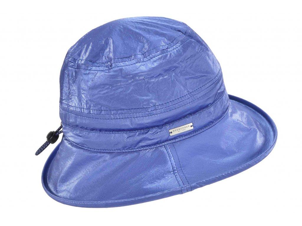 Dámský nepromokavý klobouk modrý Bucket Hat Seeberger