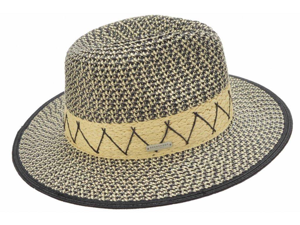 Dámský letní Fedora klobouk - Seeberger
