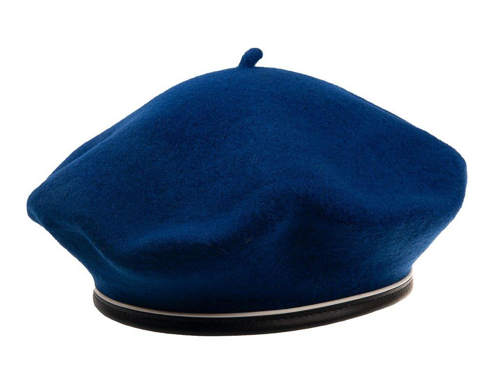 Modrý francouzský dámský baret - Febiris Tonak