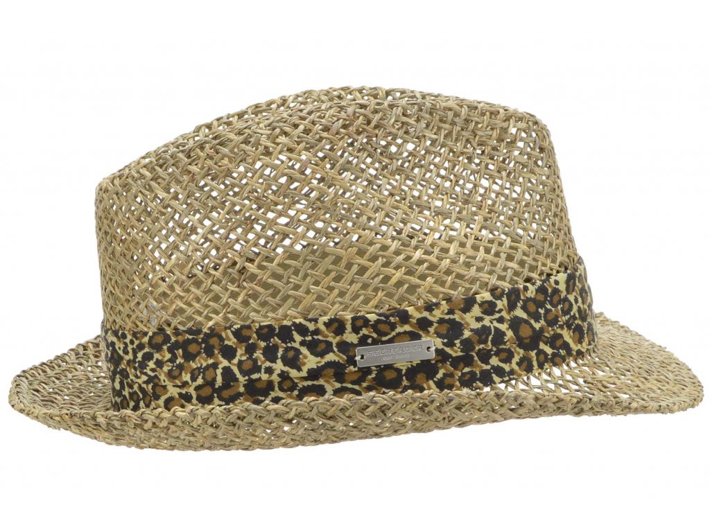 Slaměný klobouk z mořské trávy  - Seeberger