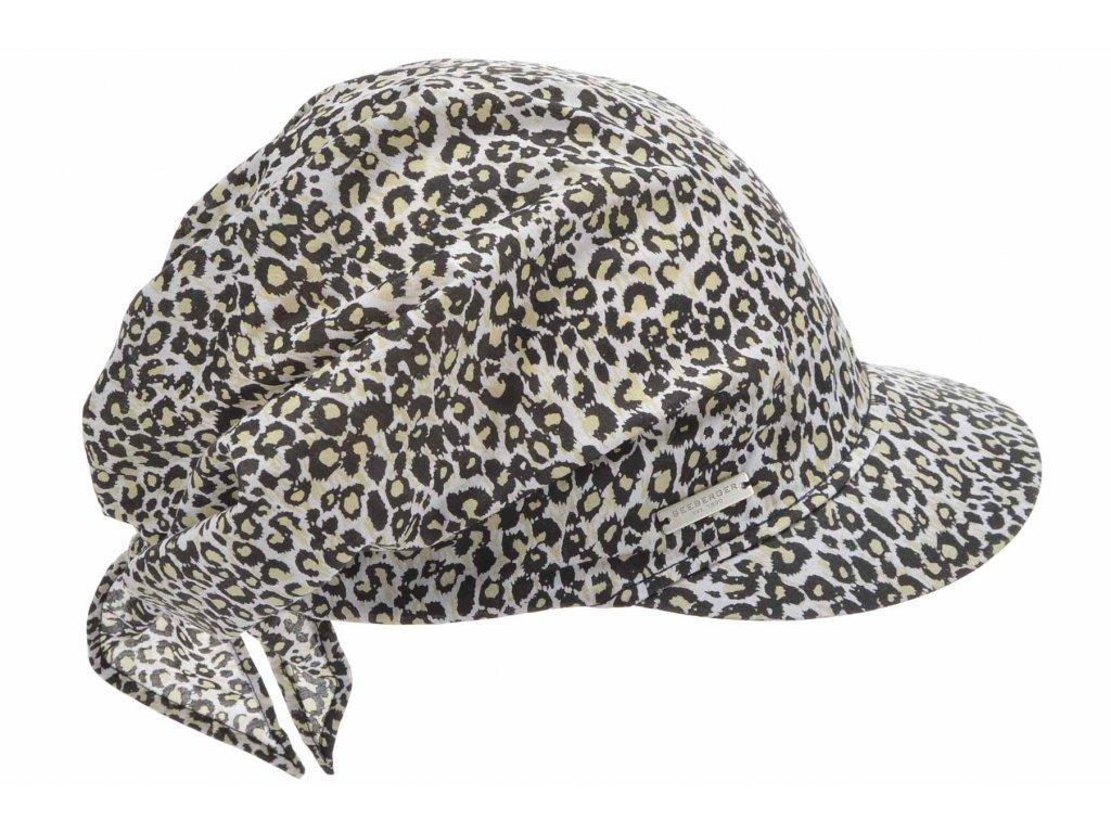 Dámská bavlněná bekovka - zvířecí print - Seeberger
