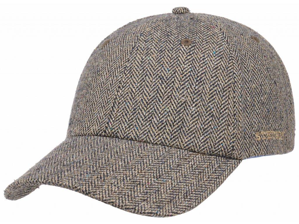 Hedvábná kšiltovka Stetson 7712501
