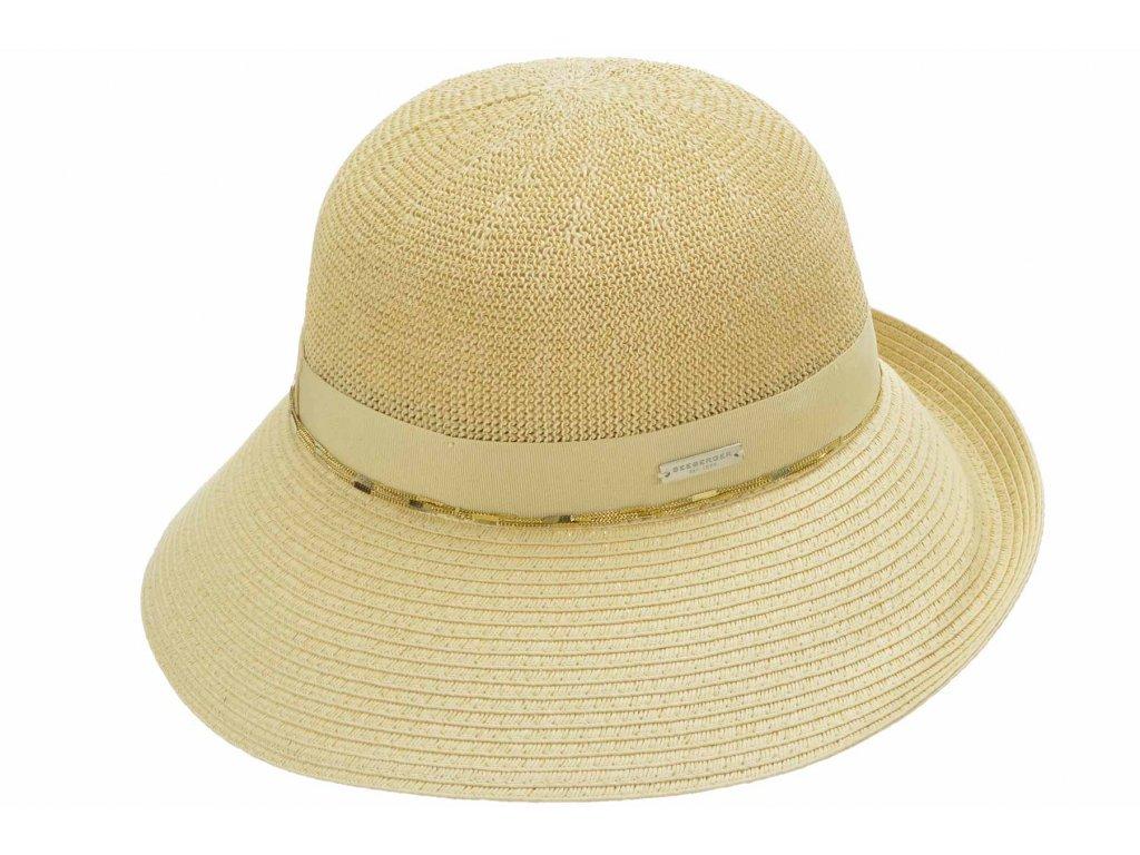 Letní cloche klobouk - Seeberger