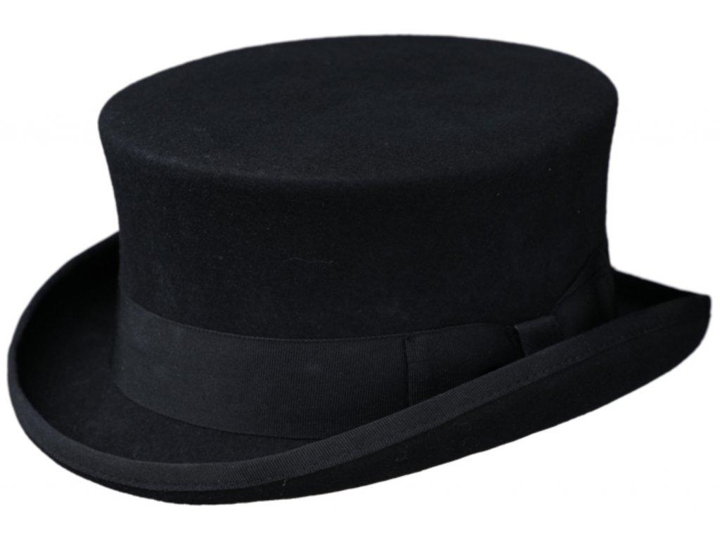 Anglický černý cylindr - 10 cm
