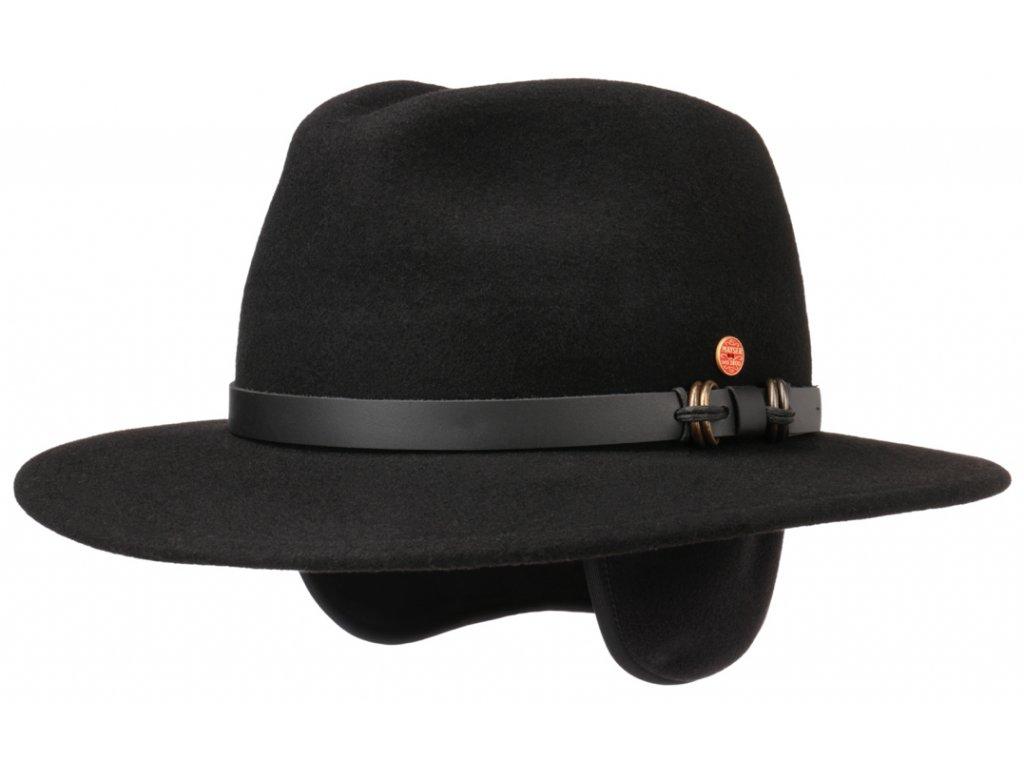 Cestovní klobouk Mayser - Earflap Georgia Traveller (s ušní klapkami)