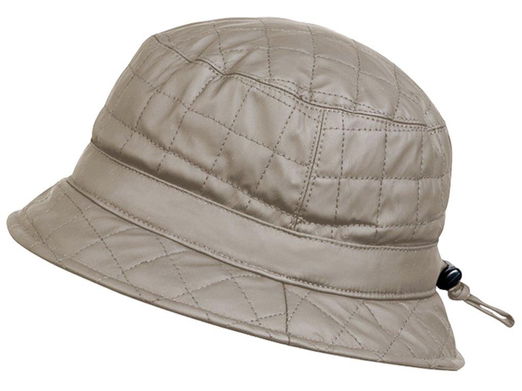 Nepromokavý prošívaný bucket hat - podzimní voděodolný klobouk - Fiebig 1903