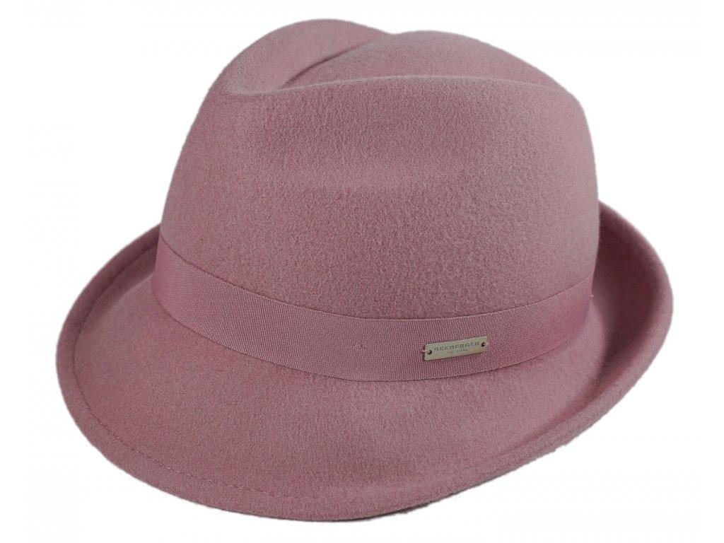 ruzovy damsky klobouk