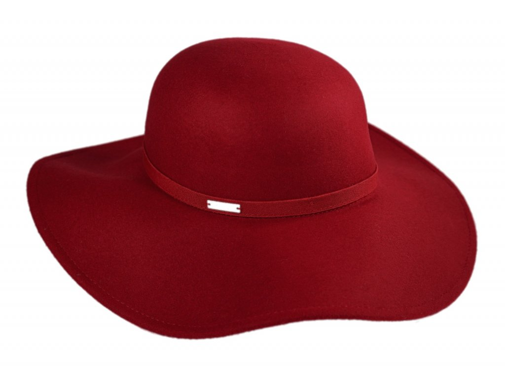 cerveny klobouk floppy