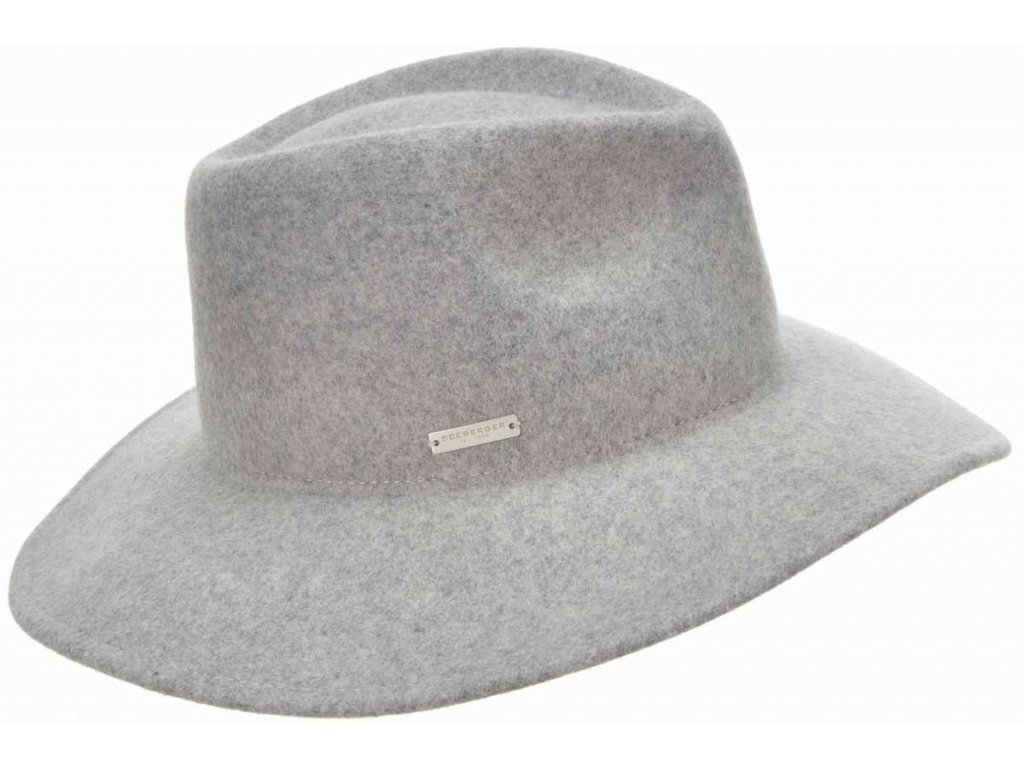 sedy damsky klobouk