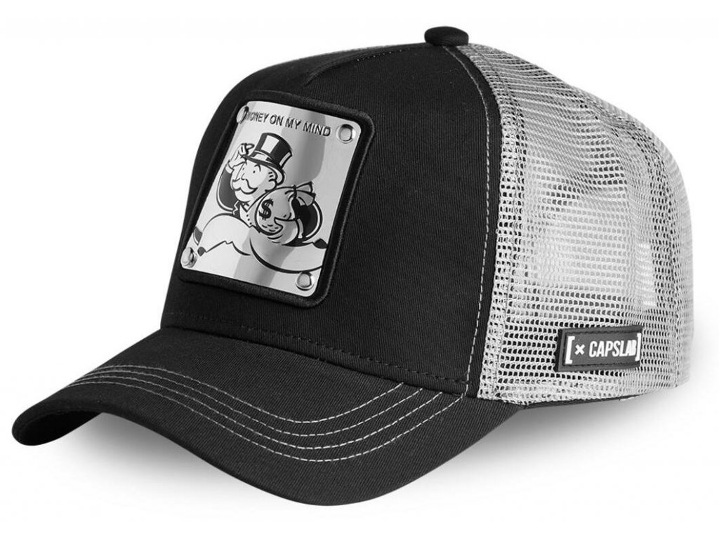 Trucker kšiltovka Capslab - CAPSLAB BY FREEGUN MONOPOLY