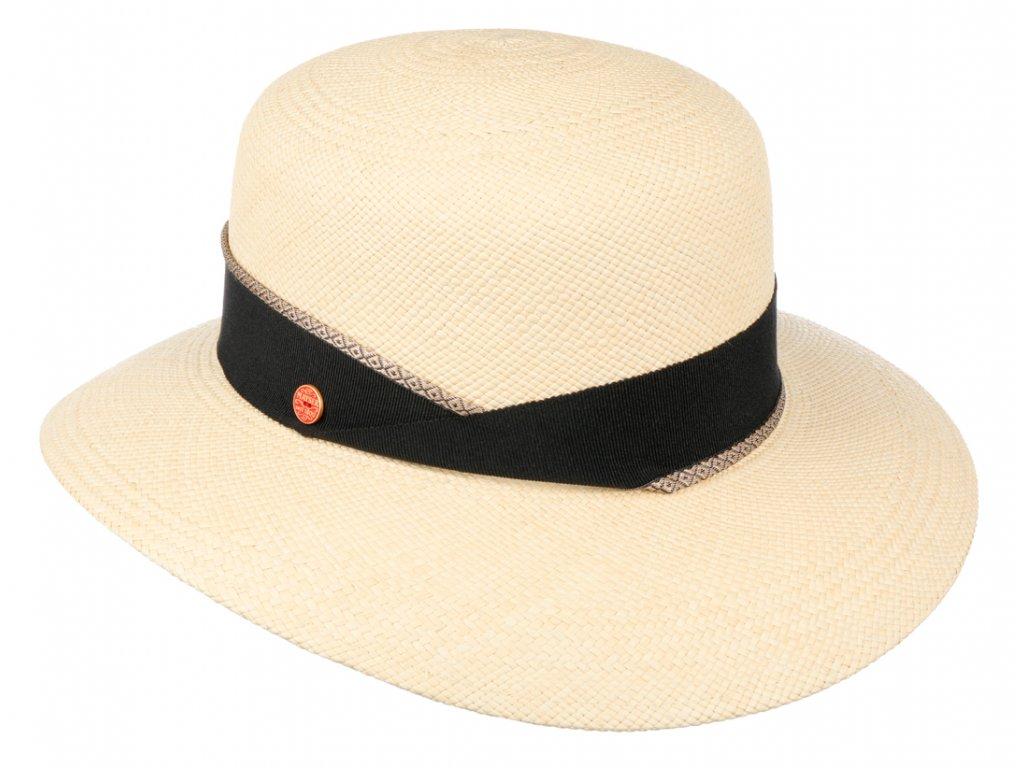 Panamský klobouk - Cloche s širší krempou - Mayser - UV faktor 80