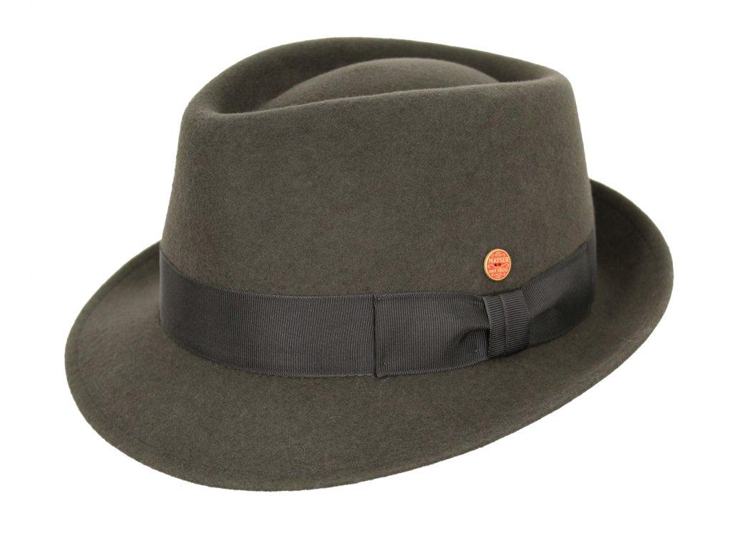 Klasický  klobouk Mayser -Troy Mayser Stone