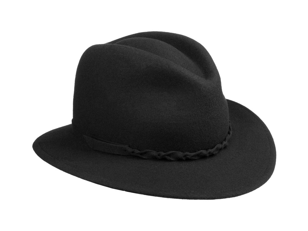 Dámský cestovní černý zimní klobouk Dagmar - Mayser