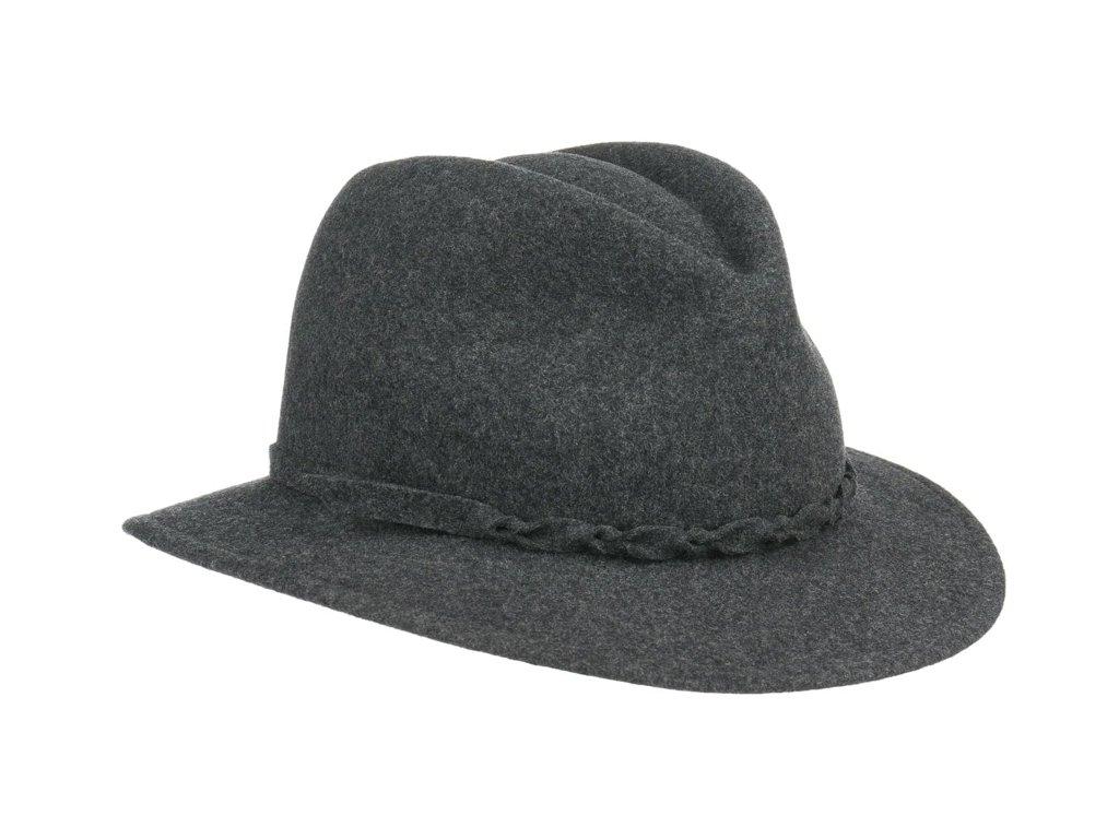 Dámský cestovní šedý zimní klobouk Dagmar - Mayser