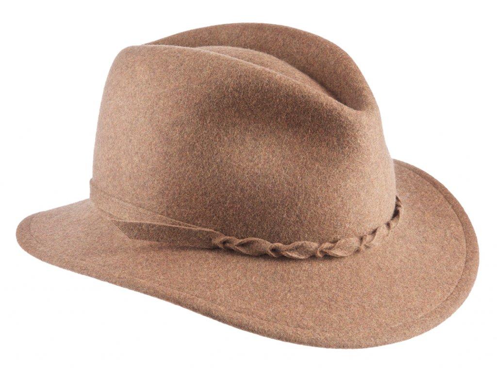 Dámský cestovní béžový zimní klobouk Dagmar - Mayser