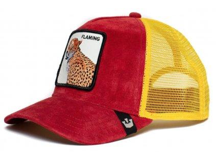 Trucker semišová kšiltovka Goorin Bros. - Farm Collection Hot Cheetah