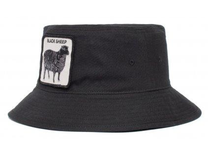Černý bavlněný bucket hat -  Goorin Bros Baaad Guy