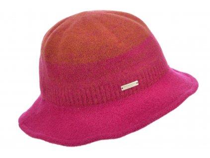 Dámský vlněný měkký klobouček cloche - Seeberger