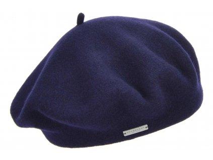 Baret modrý dámský - Flora - 0060