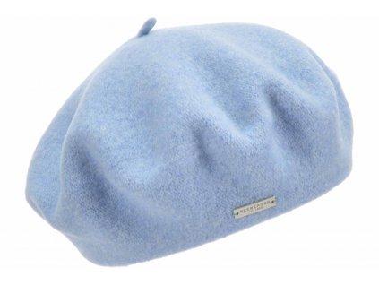 Baret modrý dámský - Flora - 0067