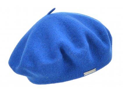 Baret modrý dámský - Flora - 0069