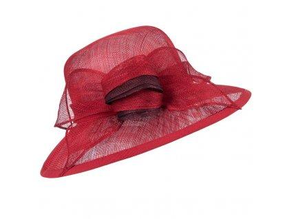 bordo slavostni klobouk