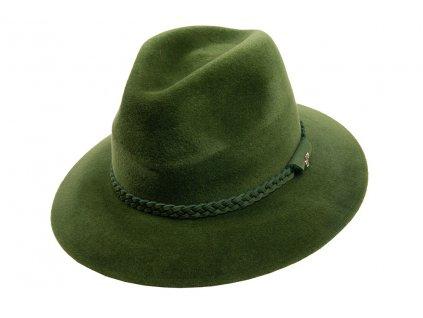1096310 P0250 1 myslivecky klobouk plsteny zeleny