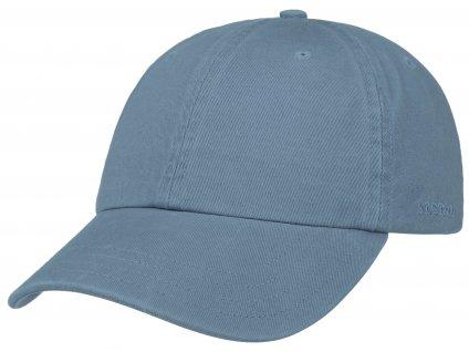 Bavlněná klasická kšiltovka Stetson - Baseball Cap Cotton - modrá