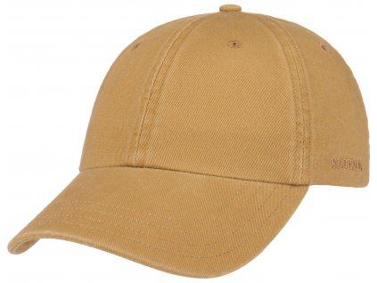 Bavlněná klasická kšiltovka Stetson - Baseball Cap Cotton
