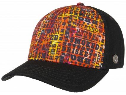Kšiltovka Stetson - Trucker Cap - Baseball Cap BBQ