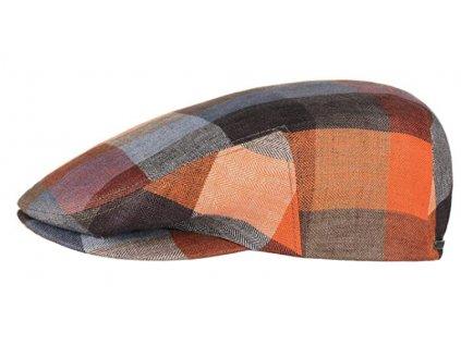 Bekovka Driver cap bavlněná od Stetson Kent Linen Check - 6213301