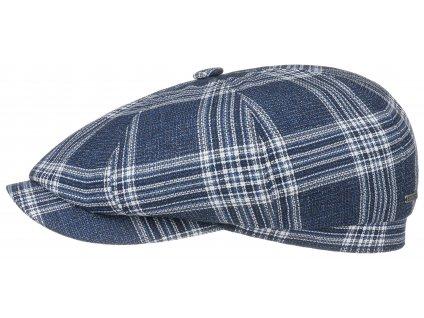 Bekovka Hatteras od Stetson Hatteras Virgin Wool - modrá kostka - 6840326