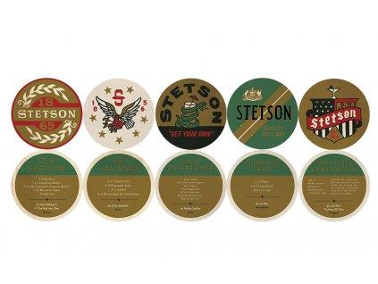 Sada pivních tácků Stetson (5 kusů)