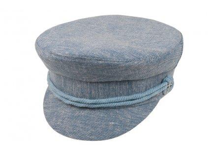 03419 CLEN006 1 sita cepice kapitanka modra