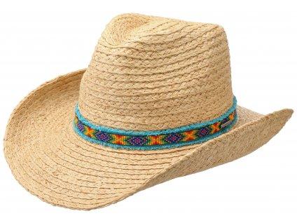 Wester slaměný klobouk Setson - 3698516