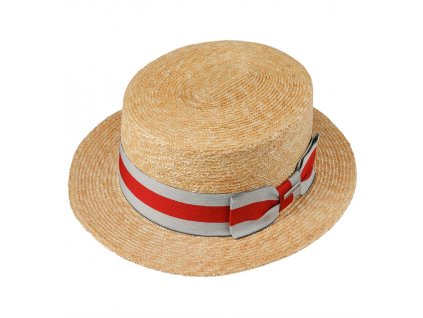 Stetson Wheat Boater Straw Hat 12