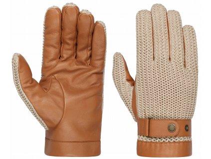 Pánské kožené rukavice Stetson - Gloves Sheep Nappa - 9497504