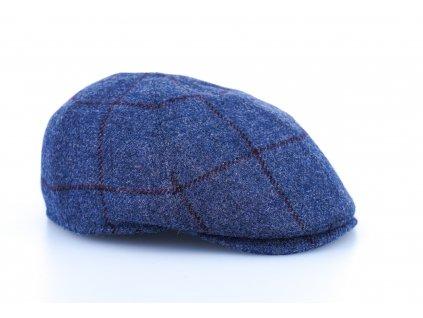 Modrá kostka 6-dílná bekovka Alfonso d'Este (ušní klapky) - 100 % vlna - 25702