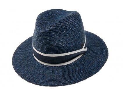 36053 1 slameny klobouk modry
